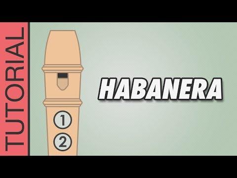 Comment jouer Habanera extrait de Carmen à la flûte