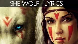David Guetta - She Wolf (LYRICS Video) ft. Sia (video edit)