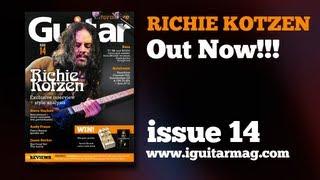 Richie Kotzen Interview + Masterclass! - Guitar Interactive Magazine Issue 14 Out Now!!