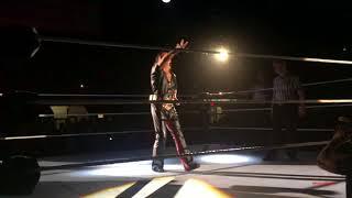 Shinsuke Nakamura's Entrance - WWE Halifax August 2018
