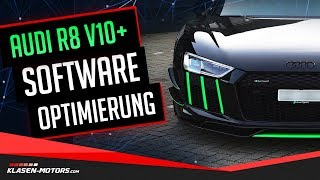 Audi R8 V10 Plus Spyder: Chiptuning, Soundcheck und Prüfstand