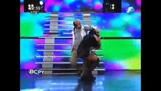 Fabi y Justo bailan #Invertido #BCPY2014 - 15-10-2014.
