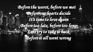 Before the Worst Lyrics- The Script