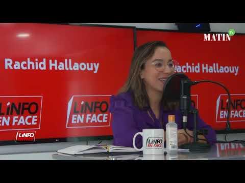 Video : Najwa Koukouss invitée de L'Info en Face spécial Elections