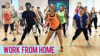 Fifth Harmony - Work From Home feat. Ty Dolla $ign (Dance Fitness with Jessica)