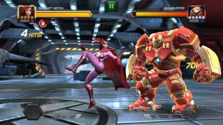MCOC Quest Act 4.4.3 First run using diffrent champs at random - Marvel Contest of champions