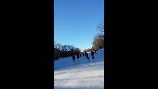 Patinaje sobre hielo en Calgary