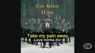 Alan Walker Alone Legenda inglês e Português