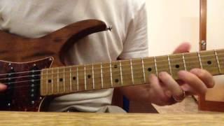 Big Neighborhood-Solo guitar cover (M.Stern)