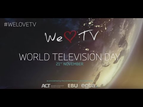 We love TV - World television day 2016 Thumbnail
