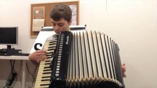 """A Spoonful of Sugar"" - accordion cover by Sam Bateman"