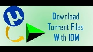 How to download torrent files with idm internet download manager in