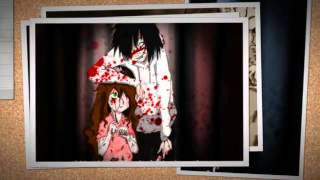Jeff the killer and Sally Tribute Three days grace - Bully