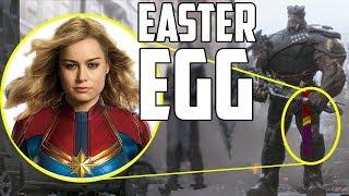 Captain Marvel Easter Egg in Avengers: Infinity War? width=