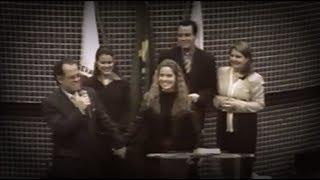 Família Valadão comemorando Aniversário da Mariana Valadão (16 anos) // 2000