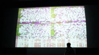 ERROR TEKK - performing live analog DIY glitch visuals at Live Performers Meeting 2015, Rome