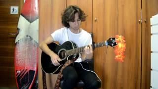 """Vaiana/Moana   """"Qué hay más allá"""" Disney Guitar Cover"""
