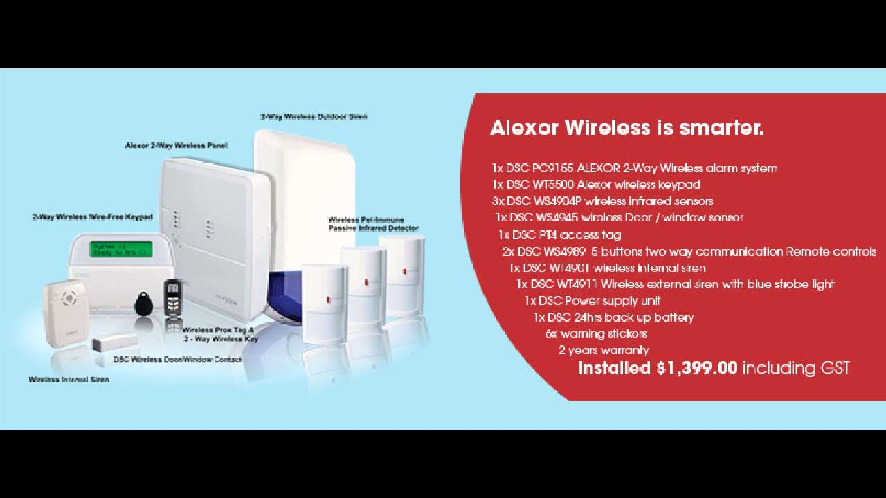 Best Wireless Home Alarm System Kennedale TX