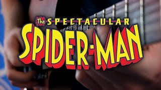 Spectacular Spider-Man Theme on Guitar