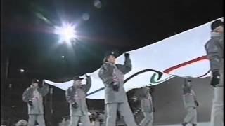 Winter Olympics 1994 closing ceremony Olympic anthem