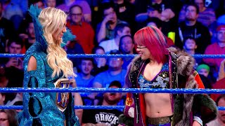 Charlotte Flair puts her championship on the line against Asuka's undefeated streak at WrestleMania