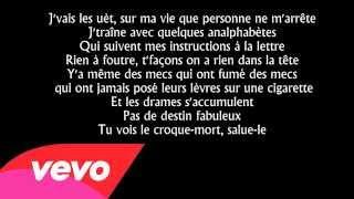 Sadek   La chute Paroles Lyrics