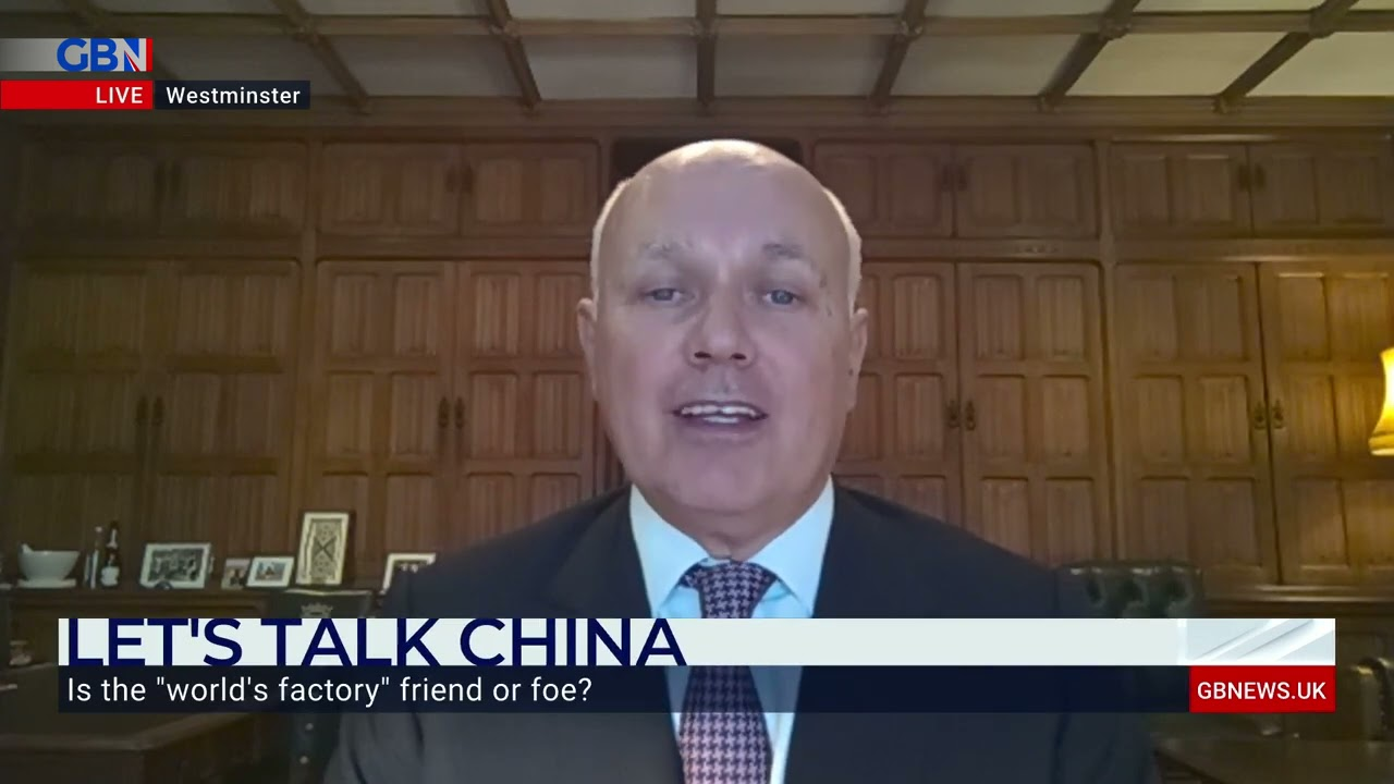 The West is in a 'Very Dangerous Moment' with China – Sir Iain Duncan Smith