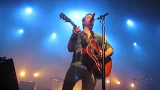 David Cook - banter about Fade Into Me video - Pullo Center - York, PA - 11/5/11