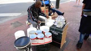 street drummer San Francisco
