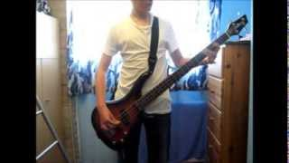 Linkin Park - Castle of Glass Bass Cover WITH TAB
