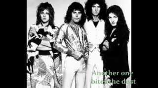 Queen - Another One Bites the Dust [Lyrics]