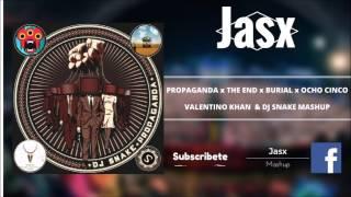 Propaganda x The End x Burial x Ocho Cinco ( Valentino Khan & DJ SNAKE Mashup )