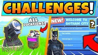 How To Complete Fortnite X Batman Challenges Videos Infinitube