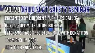 Child Seat Safety Seminar - FRESH FM Live to Air w/ Jay from Children's Furniture Gallery