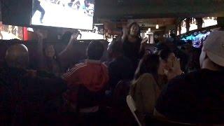 Amanda Nunes vs Ronda Rousey Full KO Fan Reaction- Fullerton, CA