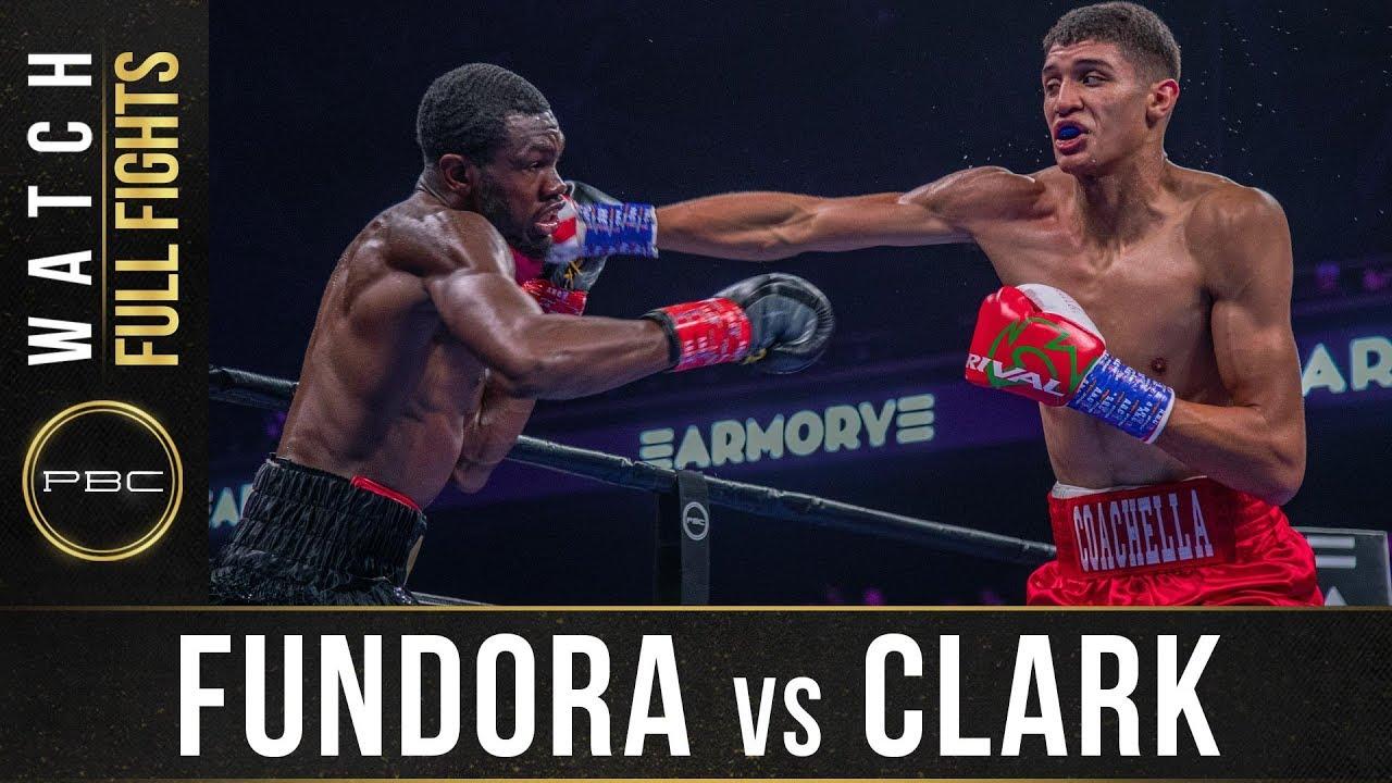 Fundora vs Clark Full Fight: August 31, 2019