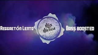 CNCO, Little Mix - Reggaetón Lento (Remix) [Bass boosted]