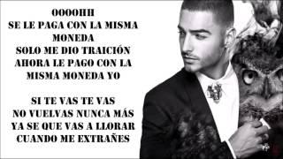 Maluma - La Misma Moneda (Letra/Lyric)