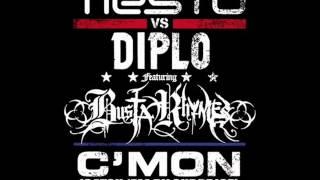 Tiësto vs. Diplo ft. Busta Rhymes - C'mon[Dubstep Remix]2012