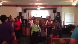 Lil disciples singing I refuse