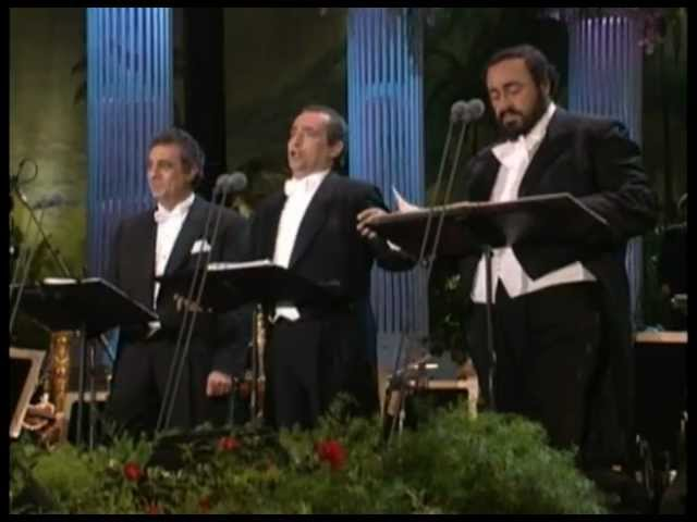 video en directo de Jose Carreras