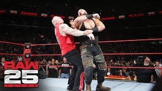Braun Strowman, Brock Lesnar and Kane collide before the Royal Rumble event: Raw 25, Jan. 22, 2018