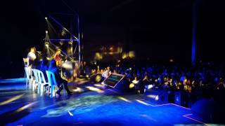 Aleks Syntek y Cristian Castro cantando Te soñé y Por amarte así