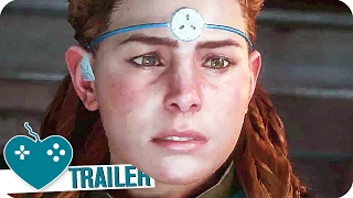 HORIZON ZERO DAWN Earth Is Ours No More Trailer (2017) PS4 Game