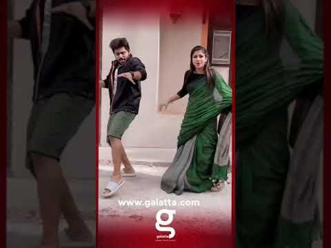 VIDEO : Alya Manasa Latest Viral Dance With VJ Prathu   Lockdown   Tamil Actress   News   #Shorts