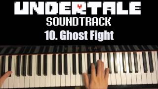 Undertale OST - 10. Ghost Fight (Piano Cover by Amosdoll)