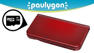 New Nintendo 3DS XL: How to Get to the Micro SD Card | Paulygon