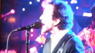 Eddie Vedder on Letterman  Better man