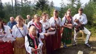 Pieśń BARKA - Msza św. w kapliczce Jana Pawła II na Żeleźnicy 16.08.2015 r.