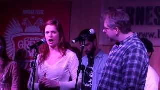 [3/5] Grace McLean, Dave Malloy, and Paul Pinto - A Call To Pierre (live) @ Barnes & Noble, 12/10/13
